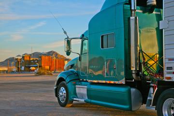 Nevada USA Truck auf dem Parkplstz