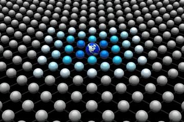 Erde im Netzwerk