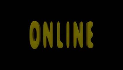 Online, avviso, connesso
