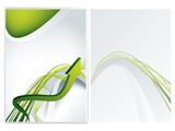 vector business brochure (booklet), flyer template poster