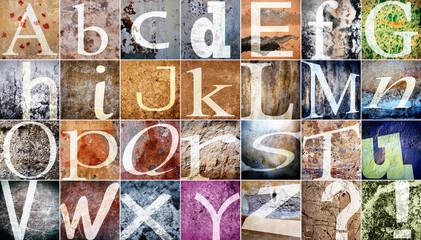 Alphabet - Texture