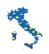 Mappa meteo per l'Italia