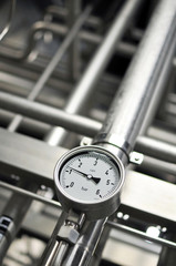 Druckmessung Rohrleitungssystem Kraftwerk