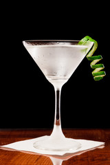 Martini with a lime twist