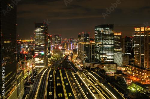 Fototapete Business - Stadt - Stadt allgemein
