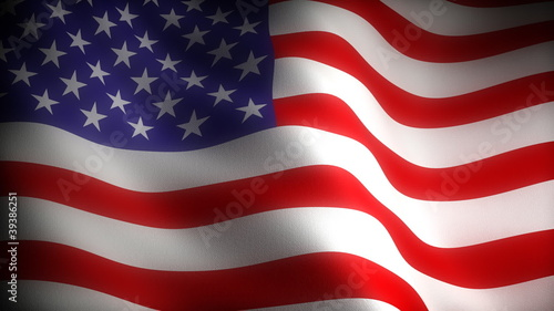 Flag of USA (seamless)
