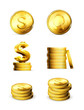 Gold Coins, set