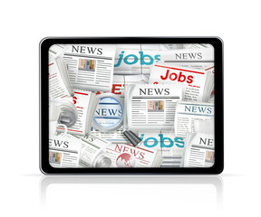 News, tablet computer