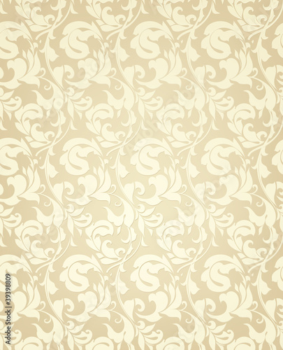 Wallpaper pattern yellow