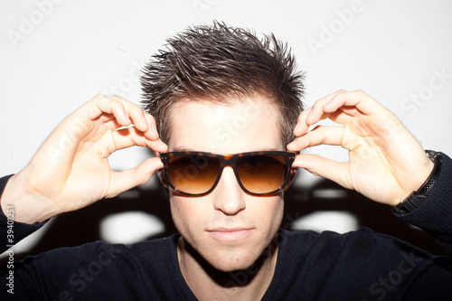 Trendy Man In Sunglasses