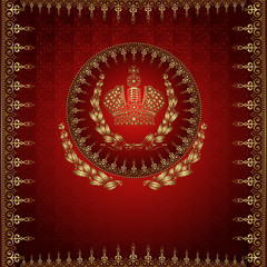 advertising banner luxury royal background