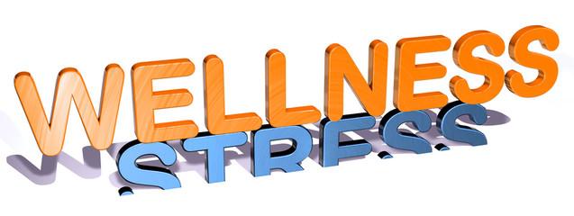 3D G Gegensätze - WELLNESS - STRESS