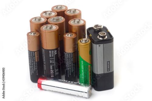 Piles électrique - 39406480