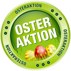 Button Osteraktion Ostereier