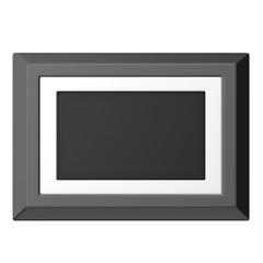 3d render of digital frame