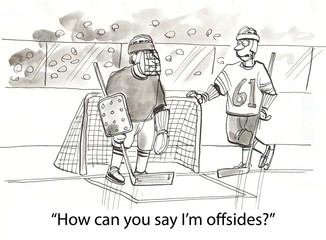 Offsides hockey