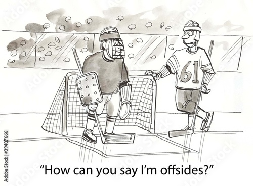 Offsides hockey