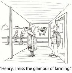 Farming glamour