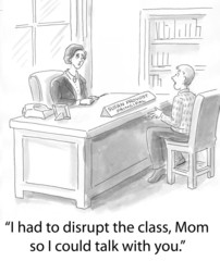 Disrupted class