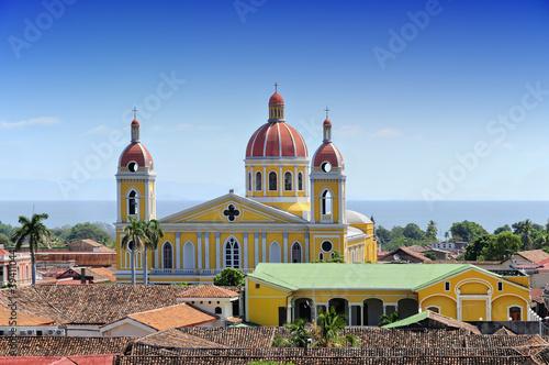 Fotobehang Centraal-Amerika Landen Cathedral of Granada, Nicaragua