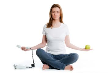 balance bei der arbeit finden