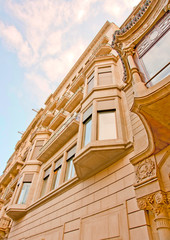 a building  located at Passeig de Gracia, in Barcelona, Spain.