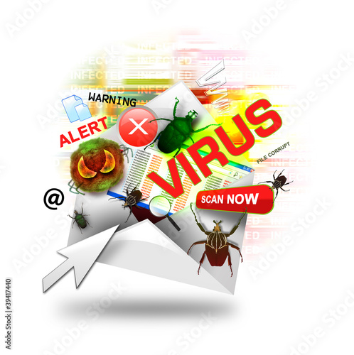 Internet Email Virus Infection Letter