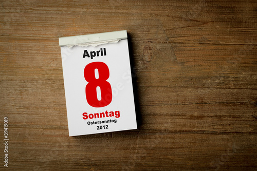 Ostersonntag 8 April 2012