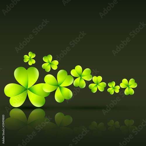 green st patrick's day vector