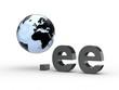 3D Domain ee mit Weltkugel