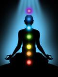 Fototapety meditation, chakras