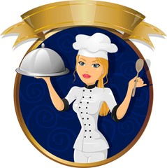 Woman pastry chef