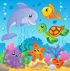 Image with undersea theme 2
