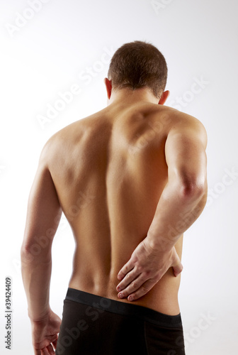 Athletic Man Back Pain