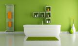 Fototapety green modern bathroom