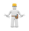 3d person. Skilled worker