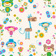 animals seamless background