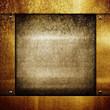 rough metal frame