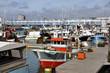 Port of Les Sables d'Olonne in France