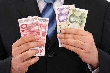 Which currency is stronger euro or yuan?