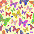 abstract batterflies