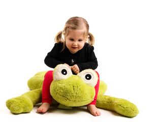 1.3.12 Mädchen reitet auf Frosch