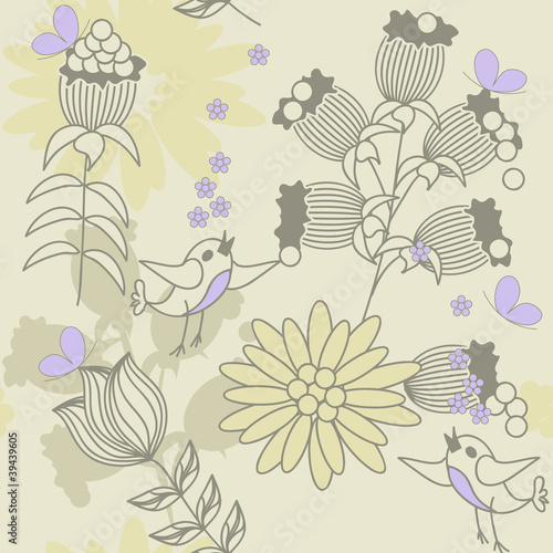 optimistical seamless pattern