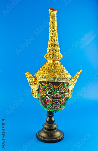 ancient thai style mask