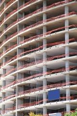Hochhaus Baustellein Buenos Aires