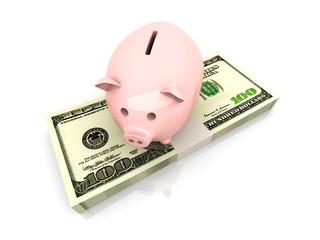 Geld ansparen