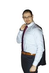 Ragazzo in giacca e cravatta