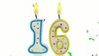 celebration number candles