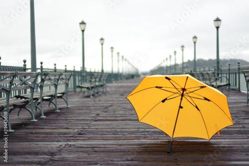 Pier after rain © TEA