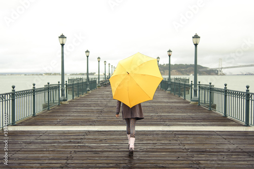 photo of girls with umbrellas № 22166